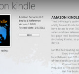 Kindle available for Windows Phone 7 NOW…