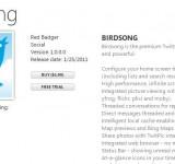 Birdsong: App Review