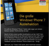 Microsoft Makes Smart Move: Lending Out 50 Windows Phone 7's At CeBit