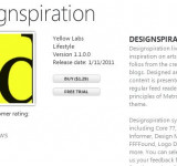 Update:Designspiration App Review