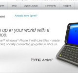 WP7 has finally Arrived on Sprint: HTC Arrive Available Now