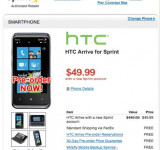 Pre-order the HTC Arrive on Sprint for only $50