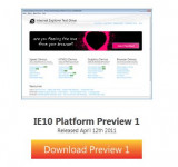 Microsoft Launches IE10 Platform Preview 1 – Download Now