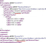 LG E700 to Feature IE9: Must Be the Mango