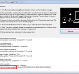 WP7 Updating Error Codes and MS Support Tool to Correct Issues