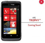 Verizon's HTC Trophy Officially Coming Soon