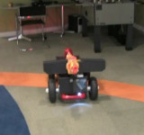 Canon Firing / Lawnmower robot Controlled by Windows Phone 7 (Video)