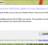 Homebrew: Finally Use Windows Phone as USB Storage
