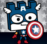 Tiler Captain America & Square Off Wallpaper Hit WPLockscreen.com (New WP7 Wallpaper)