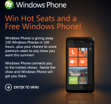 Microsoft and Ryan Seacrest Join Forces For 100 Windows Phones Giveaway
