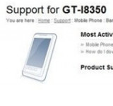 Another WP7 Mango Device – Samsung GT-i8350 Leaked