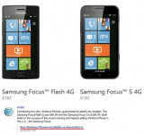 AT&T Announces Availability and Pricing of Samsung Focus S and Flash (Flash to Cost $49.99)