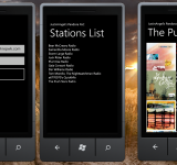 Port of Pandora Radio to Windows Phone Simple – Concept App Available