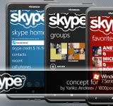 Concept App: Skype (images)
