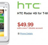 HTC Radar Going For Only $50 on Wirefly