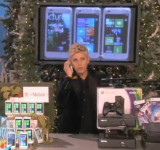 Audience at the Ellen Degeneres Show Go Crazy For Xbox, Kinect, Laptop and HTC Radar