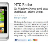 Sweden: Carrier Tele2 Adds HTC Radar W/ Xbox 360 Bonus
