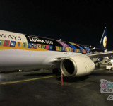 Nokia Sticks Lumia 800 Branding All Over Jet Airways Plane