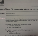 Bell Will Begin Rolling Out Windows Phone Update 8107 Today (LG Optimus Quantum and HTC HD7)