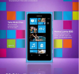 Telia Features Lumia 800 on Magazine Cover – Windows Phones First Inside