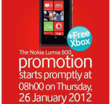 Promo: Free Xbox 360's at Nokia Lumia 800 Launch in South Africa