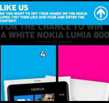 Enter For Your Chance to Win a Free Whie Lumia 800 From Nokia