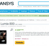 Pre-Order Nokia's White Lumia 800 on Expansys