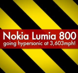 Nokia Lumia 800 Survives 3,603mph in MACH 5 Wind Tunnel (video)