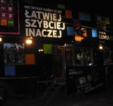 Another Great Light Show For Nokia – This Time For Lumia 800 launch in Poland