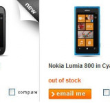 Orange UK: Nokia Lumia 710 & Cyan Nokia Lumia 800 Sold Out