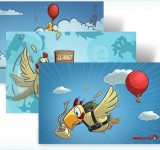 Get Your Official 'Chickens Can't Fly' Windows Theme & Check Out New Trailer
