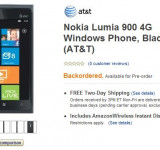 Pre-Order Nokia's Lumia 900 on Amazon for Only a Penny (Now Backordered)