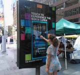 Giant Interactive Nokia Lumia 800's Planted All Over Sydney, Australia