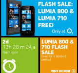 Nokia UK: Free Lumia 710 or 800 on O2 (2 Days Left)