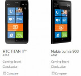 HTC Titan II vs. Nokia Lumia 900 Fight!!!  (video)