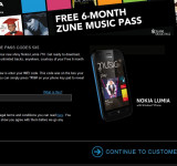 Vodafone: Get 6 Months of Zune Free With Your Nokia Lumia 710