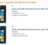 Lumia 900 Already Showing Signs of Strong Sales (Now #1 & #2 on Amazon)
