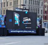 Nokia Lumia Augmented Reality Promo Event In Melbourne, Australia
