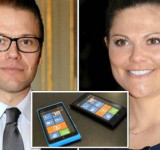 President of Finland Gifts Lumias to Crown-Princess Victoria of Sweden