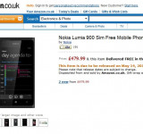 Nokia Lumia 900 Now Available for Pre-Order in UK