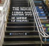 Nokia Lumia 900 Ads All Over New York City's Grand Central Station