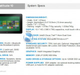 Leaked: Dell Latitude 10 Windows 8 Tablet (Image & Specs)