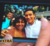 Extra w/ Mario Lopez – Give Away a Dozen Lumia 900's – Announce Contest (video)