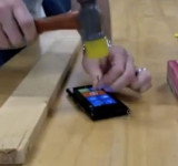 The Lumia 900's Screen Gets Hit with Hammer and Nothing Happens (video)