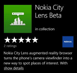 Nokia City Lens Now Available on Marketplace (Augmented Reality)