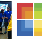 Apple Employees Get Caught Checking Out Microsoft Store Grand Opening