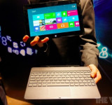 Windows 8: Asus Tablet 600 With Detachable Screen (Hands on Video)