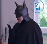 Batman's Day Off With Dark Knight Special Edition Lumia 900 (video)