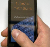 Leaked: New Arc (Curved) Soft Keyboard Option on Windows Phone 8?