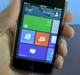 The Devils Work: Windows 8 Metro UI on IOS (video)